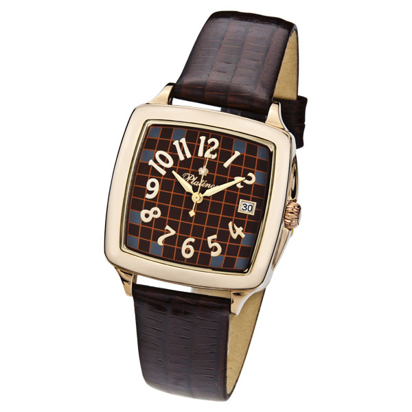 Мужские золотые часы «Вихрь» Арт.: 40450.727