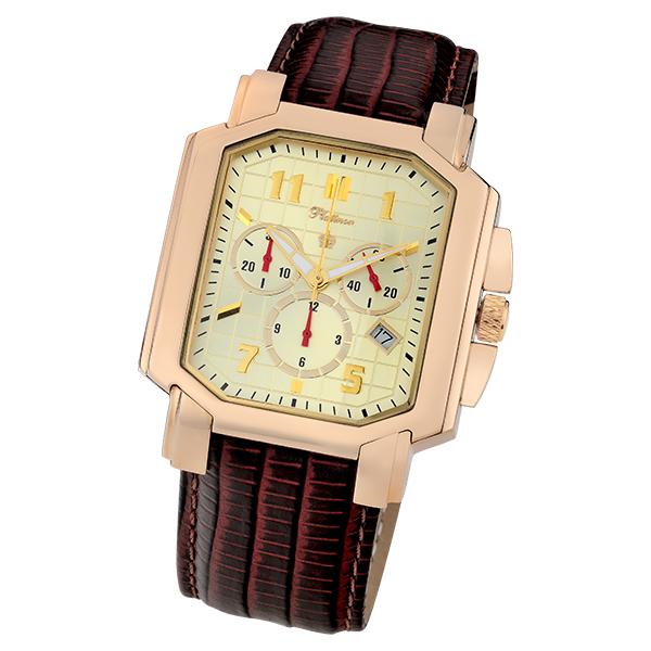 Мужские золотые часы «Флагман» Арт.: 40650.412