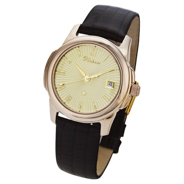 Мужские золотые часы «Монако» Арт.: 41250.421