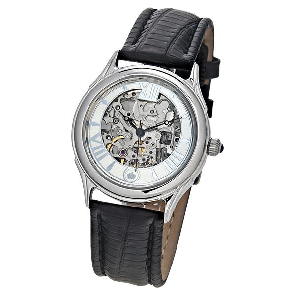 Мужские серебряные часы «Скелетон» Арт.: 41900.157