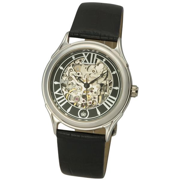 Мужские серебряные часы «Скелетон» Арт.: 41900Д.557