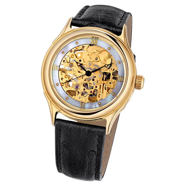 Мужские золотые часы «Скелетон» Арт.: 41960.358