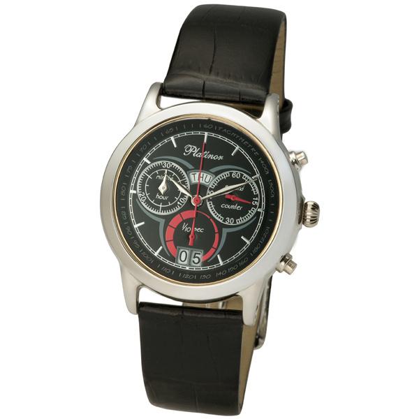 Мужские серебряные часы «Сальвадор» Арт.: 47100.503