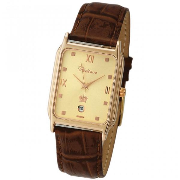 Мужские золотые часы «Манхэттен» Арт.: 50850.416