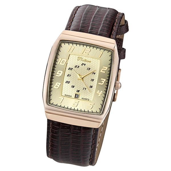 Мужские золотые часы «Байкал» Арт.: 51350.407