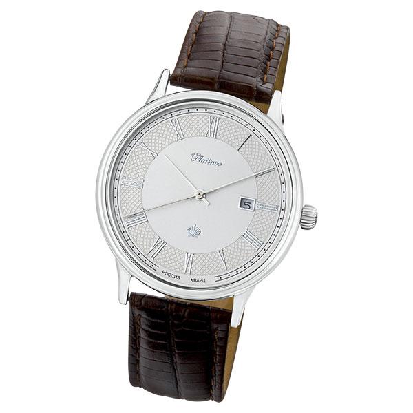 Мужские серебряные часы «Урал» Арт.: 52300.211