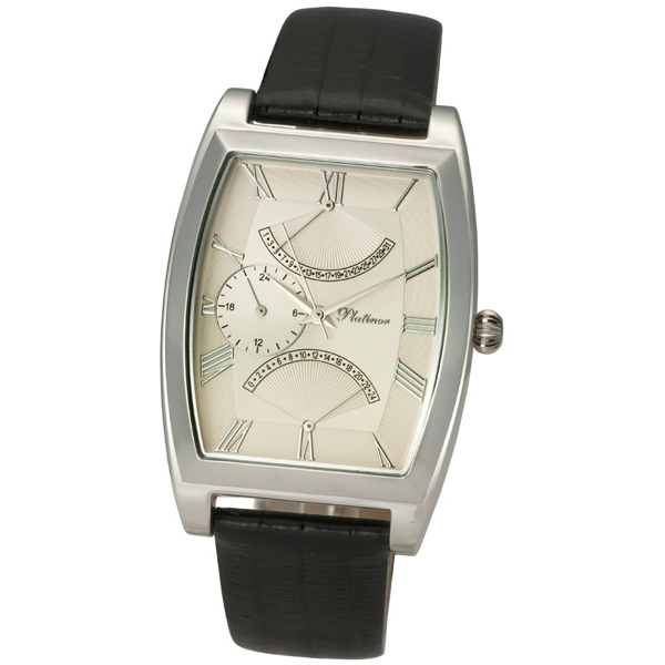 Мужские серебряные часы «Дипломат» Арт.: 52500.221