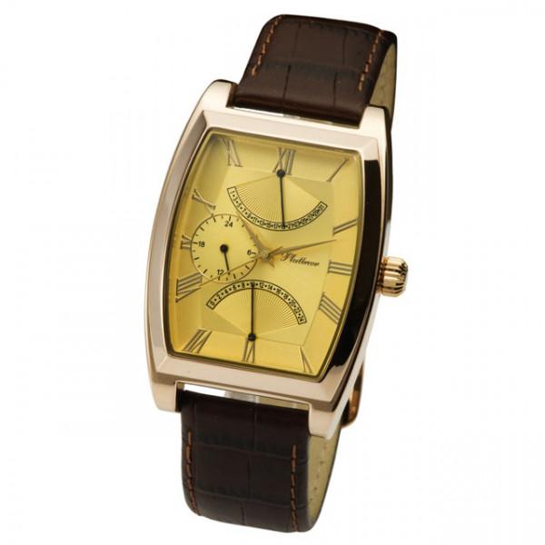 Мужские золотые часы «Дипломат» Арт.: 52550.421