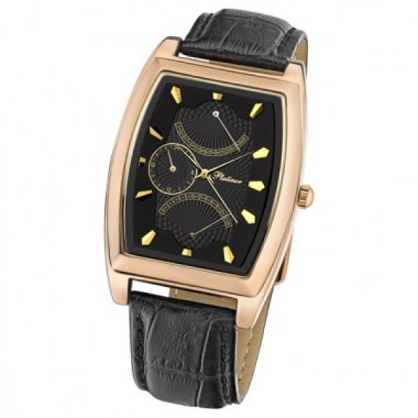 Мужские золотые часы «Дипломат» Арт.: 52550.504
