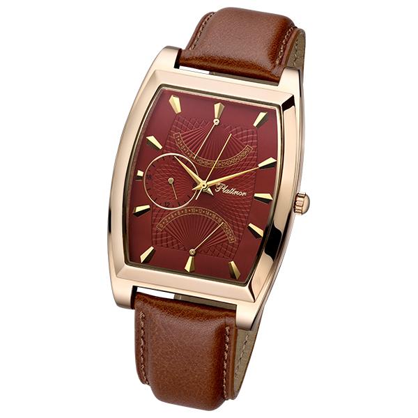 Мужские золотые часы «Дипломат» Арт.: 52550.804