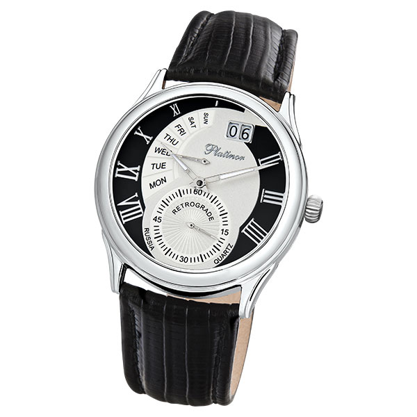 Мужские серебряные часы «Посейдон» Арт.: 52700.517