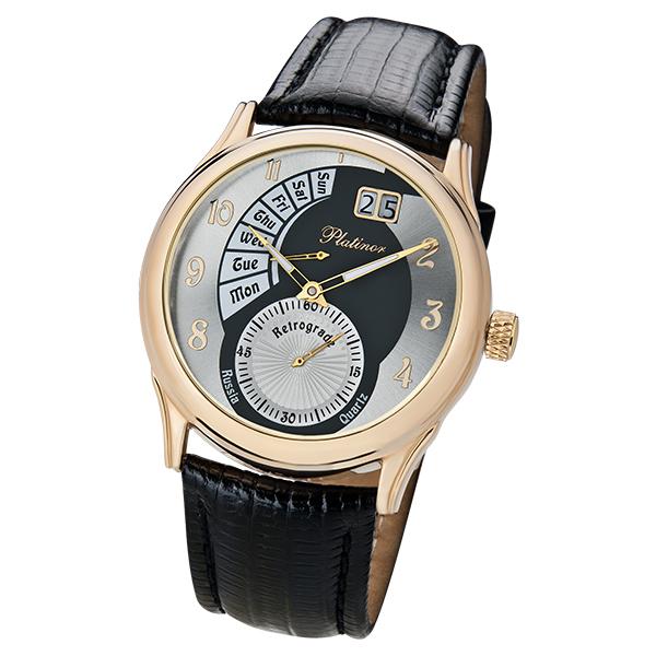 Мужские золотые часы «Посейдон» Арт.: 52750.207