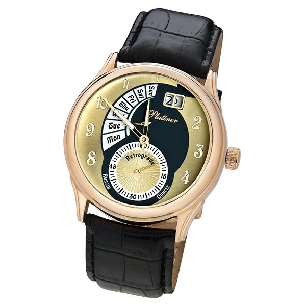 Мужские золотые часы «Посейдон» Арт.: 52750.407