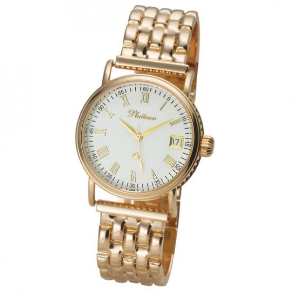 Мужские золотые часы «Нептун» Арт.: 53550.115 на браслете арт.: 42005