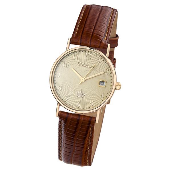 Мужские золотые часы «Горизонт» Арт.: 54530.411