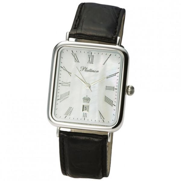 Мужские серебряные часы «Атлант» Арт.: 54600.315
