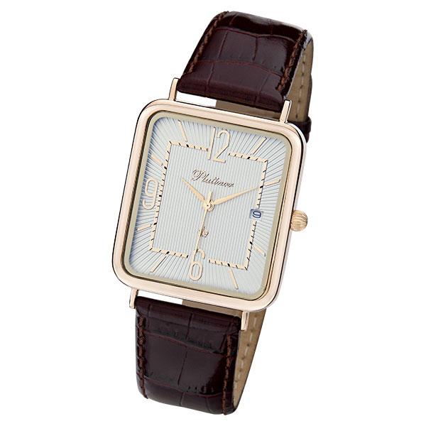 Мужские золотые часы «Атлант» Арт.: 54650.210 (54630.210)