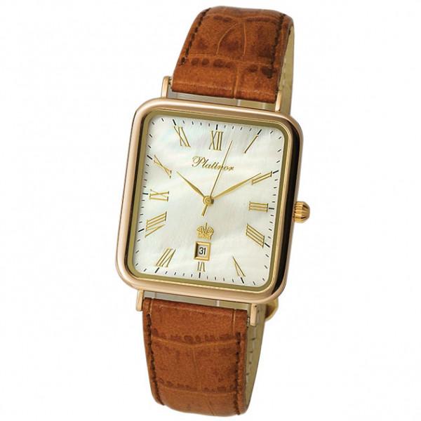 Мужские золотые часы «Атлант» Арт.: 54650.315