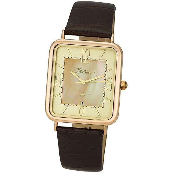 Мужские золотые часы «Атлант» Арт.: 54650.407