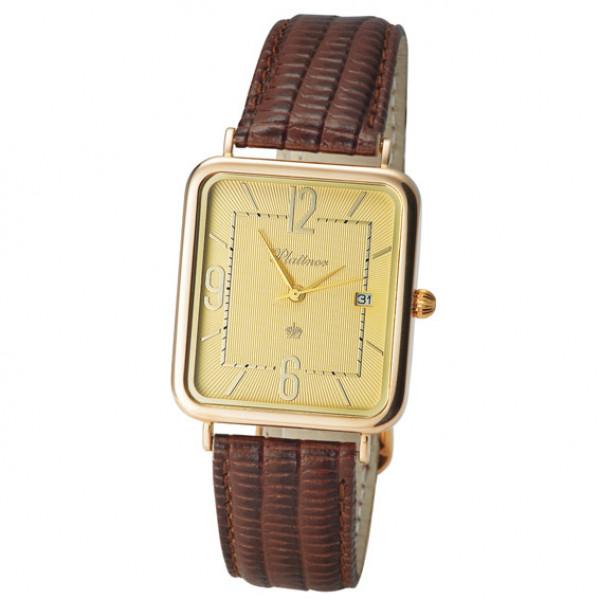 Мужские золотые часы «Атлант» Арт.: 54650.410