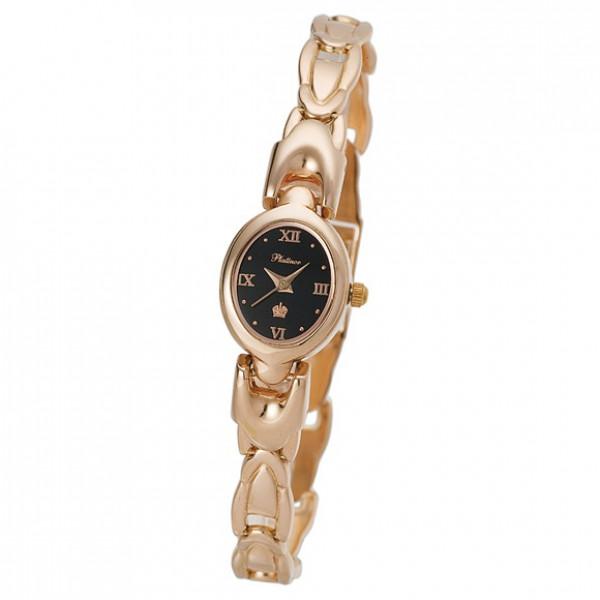 Женские золотые часы «Марго» Арт.: 200450.516 на браслете Арт.: 51211