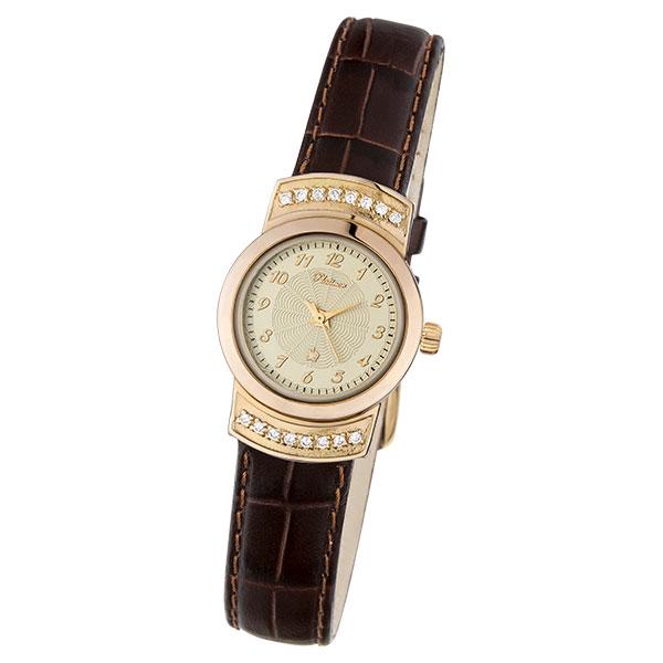 Женские золотые часы «Ритм 3» Арт.: 28156.407