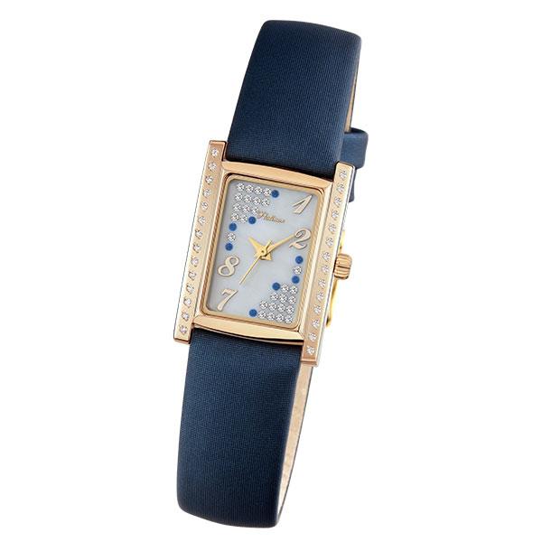 Женские золотые часы «Милана» Арт.: 42956.127
