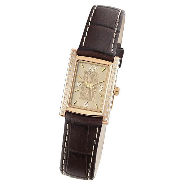 Женские золотые часы «Милана» Арт.: 42956.412