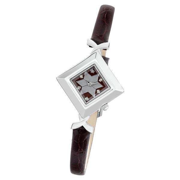 Женские серебряные часы «Агата» Арт.: 43900.728