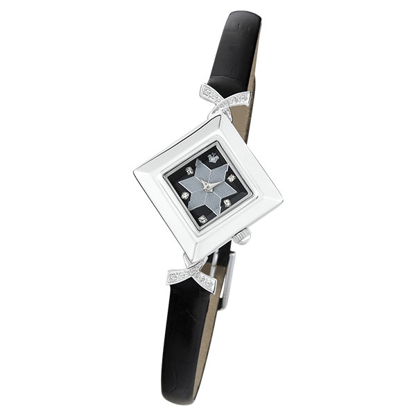 Женские серебряные часы «Агата» Арт.: 43906.528