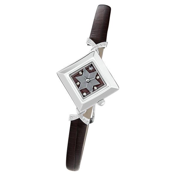 Женские серебряные часы «Агата» Арт.: 43906.728