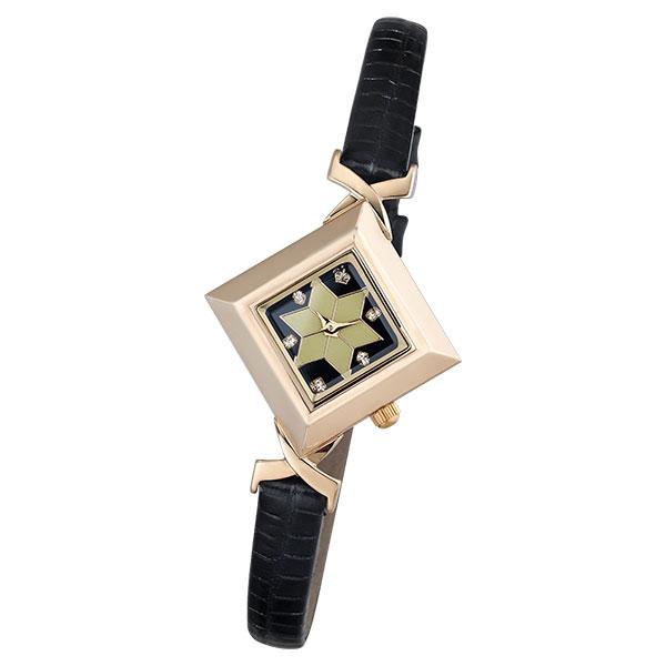 Женские золотые часы «Агата» Арт.: 43950.527