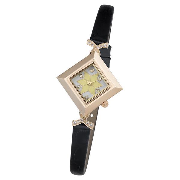 Женские золотые часы «Агата» Арт.: 43956.127