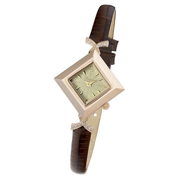 Женские золотые часы «Агата» Арт.: 43956.404