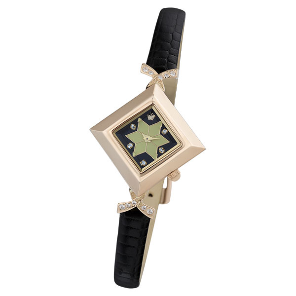 Женские золотые часы «Агата» Арт.: 43956.527