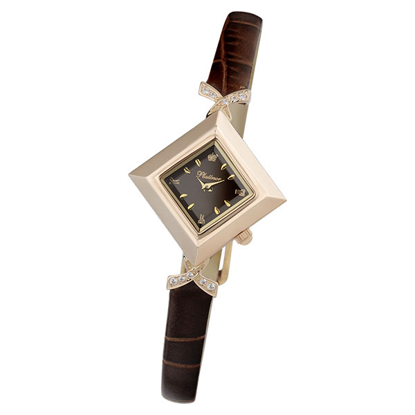 Женские золотые часы «Агата» Арт.: 43956.703