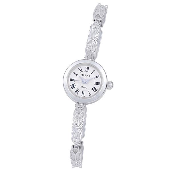 Женские серебряные часы «Чайка» Арт.: 44100-06.121