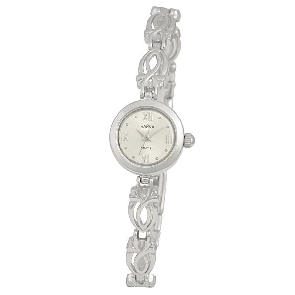 Женские серебряные часы «Чайка» Арт.: 44100-15.116