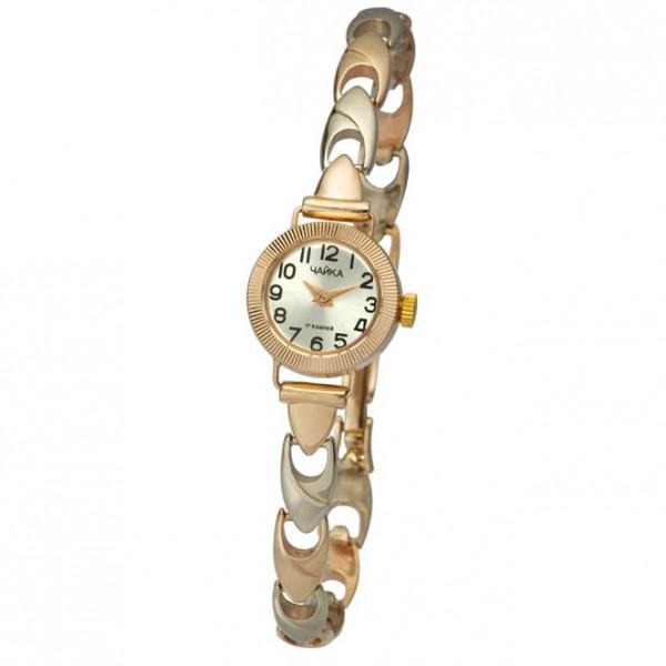 Женские золотые часы «Злата» Арт.: 44130-2.205 на браслете Арт.: 3105001