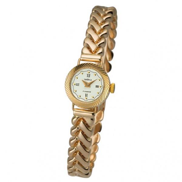 Женские золотые часы «Злата» Арт.: 44130-5.146 на браслете Арт.: 024