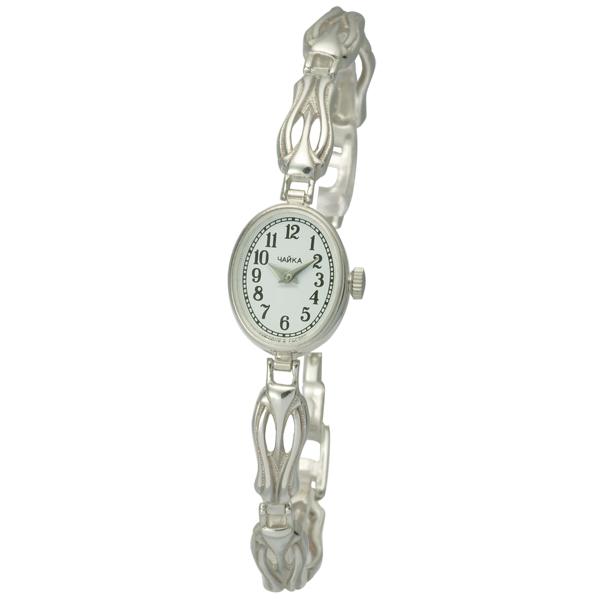 Женские серебряные часы «Чайка» Арт.: 44300-04.150