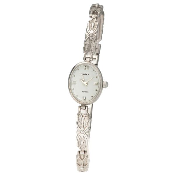 Женские серебряные часы «Чайка» Арт.: 44300-06.116
