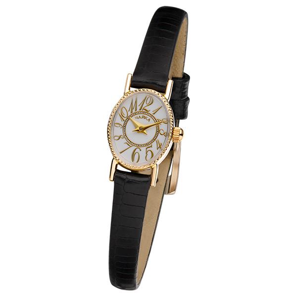Женские золотые часы «Нежность» Арт.: 44330-2.107