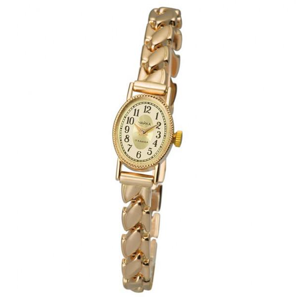 Женские золотые часы «Нежность» Арт.: 44350-2.449 на браслете Арт.: 025