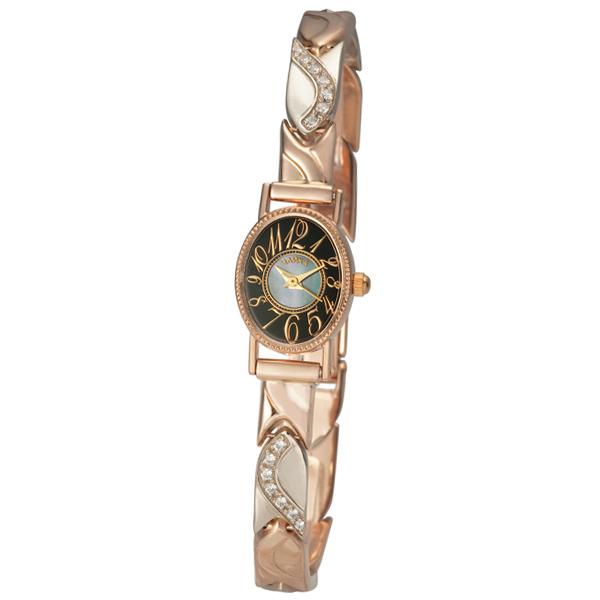 Женские золотые часы «Нежность» Арт.: 44350-2.507 на браслете Арт.: 316009