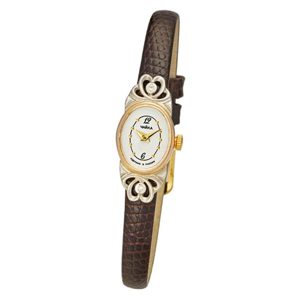 Женские золотые часы «Нежность» Арт.: 44330-246.152