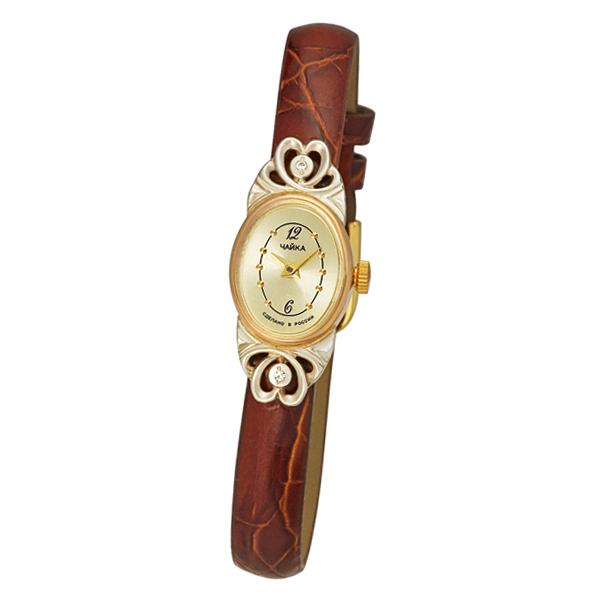 Женские золотые часы «Нежность» Арт.: 44330-246.452