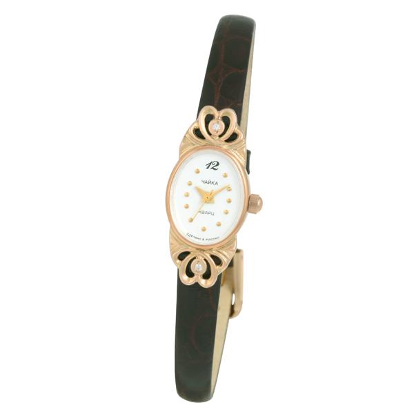 Женские золотые часы «Нежность» Арт.: 44350-256.146
