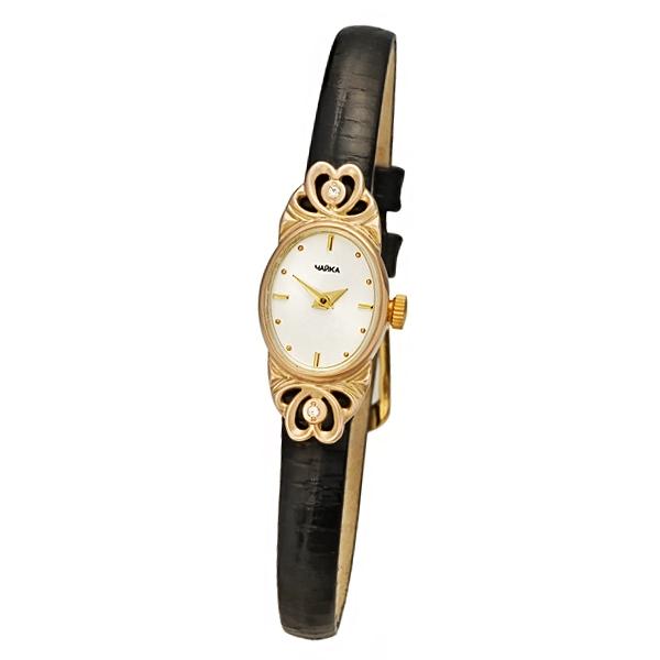 Женские золотые часы «Нежность» Арт.: 44330-256.201