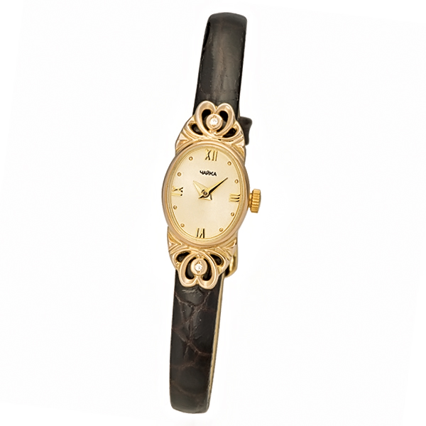 Женские золотые часы «Нежность» Арт.: 44330-256.416